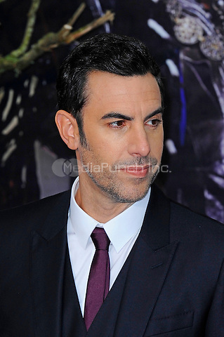 LONDON, ENGLAND - MAY 10: Sacha Baron Cohen attending the 'Alice Through The Looking Glass' European Premiere at Odeon Cinema, Leicester Square in London. on May 10, 2016 in London, England.<br /> CAP/MAR<br /> &copy; Martin Harris/Capital Pictures /MediaPunch ***NORTH AND SOUTH AMERICA ONLY***