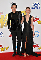 David Dastmalchian &amp; Evelyn Leigh at the premiere for &quot;Ant-Man and the Wasp&quot; at the El Capitan Theatre, Los Angeles, USA 25 June 2018<br /> Picture: Paul Smith/Featureflash/SilverHub 0208 004 5359 sales@silverhubmedia.com
