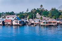 Riau Islands, Bintan. Tanjung Uban is located on the north west coast of Bintan.