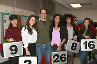 LOS ANGELES - MAR 1:  Patricia Kara, Taylor Clark, Diedrich Bader,  Michelle De Leon, Neka Stephens, Jessica Lee at the Read Across America Event at the Ardella B. Tibby K – 8 School on March 1, 2019 in Compton, CA