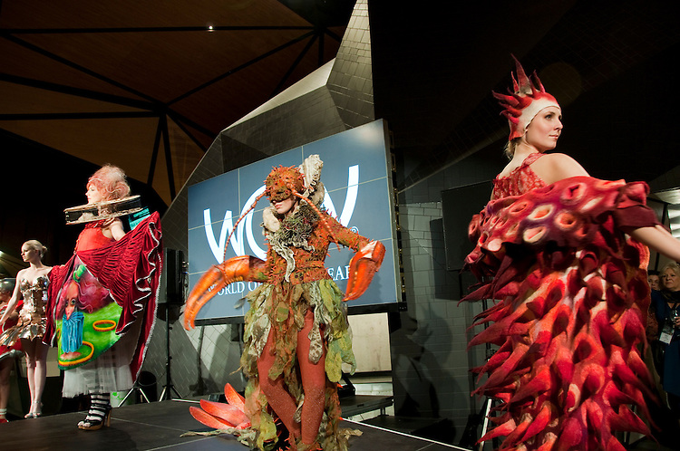 New Zealand, North Island, Wellington, fashion show for WOW World of Wearable Art. Photo copyright Lee Foster. Photo #126725