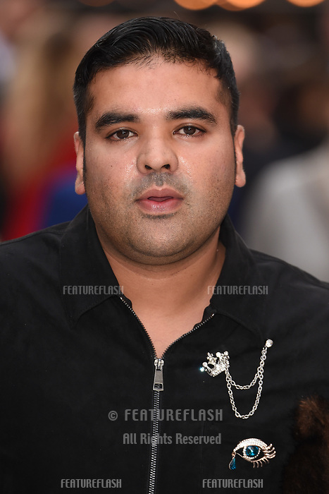 "LONDON, UK. September 12, 2018: Naughty Boy at the World Premiere of ""King of Thieves"" at the Vue Cinema, Leicester Square, London.<br /> Picture: Steve Vas/Featureflash"