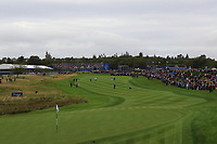 Looking down the 1st during Day 3 Singles at the Solheim Cup 2019, Gleneagles Golf CLub, Auchterarder, Perthshire, Scotland. 15/09/2019.<br /> Picture Thos Caffrey / Golffile.ie<br /> <br /> All photo usage must carry mandatory copyright credit (© Golffile | Thos Caffrey)