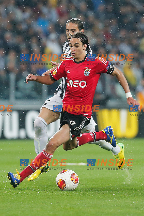 Lazar Markovic Benfica, Torino 1-5-2014, Juventus Stadium, Football Calcio 2013/2014 Europe League, Juventus - Benfica, Foto Marco Bertorello/Insidefoto