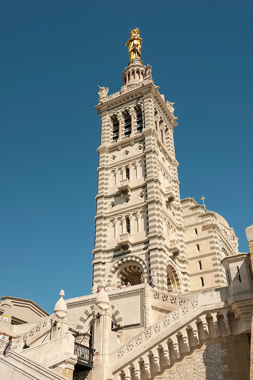 On a breathtaking hilltop location, this church stands on the summit of Marseille as its most important landmark.