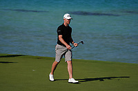 Brandon Stone (RSA) on the 16th during the Preview of the Saudi International at the Royal Greens Golf and Country Club, King Abdullah Economic City, Saudi Arabia. 28/01/2020<br /> Picture: Golffile | Thos Caffrey<br /> <br /> <br /> All photo usage must carry mandatory copyright credit (© Golffile | Thos Caffrey)