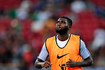Chelsea Midfielder Jeremie Boga warming up during the International Champions Cup match between Chelsea FC and FC Bayern Munich at National Stadium on July 25, 2017 in Singapore. Photo by Marcio Rodrigo Machado / Power Sport Images
