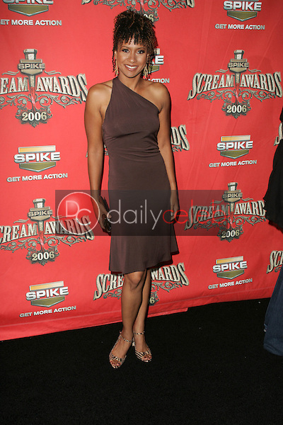 Tracie Thoms<br />at Spike TV's &quot;Scream Awards 2006&quot;. Pantages Theatre, Hollywood, CA. 10-07-06<br />Dave Edwards/DailyCeleb.com 818-249-4998