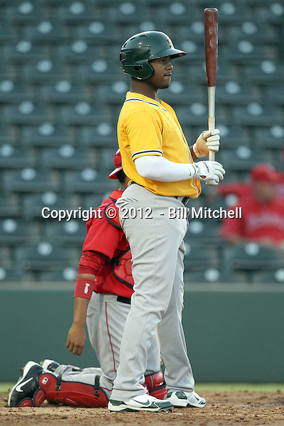 BJ Boyd - 2012 AZL Athletics (Bill Mitchell)