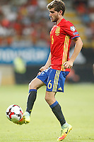 Spain's Sergi Roberto during FIFA World Cup 2018 Qualifying Round match. September 5,2016.(ALTERPHOTOS/Acero)