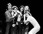 Journey 1981 Jonathan Cain, Neal Schon, Steve Perry, Steve Smith and Ross Valory.© Chris Walter.