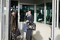Roma, 19 Novembre 2015<br /> Giosuè Bruno Naso, avvocato difensore di Massimo Carminati con la figlia Ippolita Naso.<br /> Aula bunker di Rebibbia<br /> Terza udienza del processo Mafia Capitale,