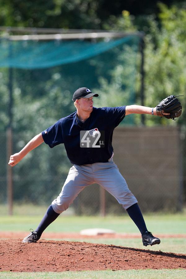 Baseball - MLB European Academy - Tirrenia (Italy) - 21/08/2009 - Oscar Carlstedt (Sweden)
