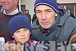 Father & son duo from Dromid at the semi-final in Waterville on Sunday l-r; Tadg & Micky Dennehy.