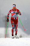 04/01/2014, Val Di Fiemme - 2014 Cross Country Ski World Cup Tour de ski <br /> Astrid JACOBSEN (NOR) in action during the Women 5 km Classic Individual in Val Di Fiemme, Italy on 04/01/2014.<br /> <br /> &copy; Pierre Teyssot