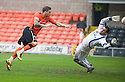 :: DUNDEE UTD'S DAVID GOODWILLIE SCORES UNITED'S THIRD :: .23/04/2011   Copyright  Pic : James Stewart.sct_jsp004_dundee_utd_v_kilmarnock .James Stewart Photography 19 Carronlea Drive, Falkirk. FK2 8DN      Vat Reg No. 607 6932 25.Telephone      : +44 (0)1324 570291 .Mobile              : +44 (0)7721 416997.E-mail  :  jim@jspa.co.uk.If you require further information then contact Jim Stewart on any of the numbers above.........