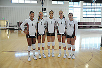 STANFORD, CA - AUGUST 8:  Rachel Williams, Sam Wopat, Lydia Bai, Carly Wopat, and Mary Ellen Luck during picture day on August 8, 2010 in Stanford, California.