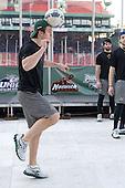 Drew MacKenzie (Vermont - 2) - The University of Massachusetts (Amherst) Minutemen defeated the University of Vermont Catamounts 3-2 in overtime on Saturday, January 7, 2012, at Fenway Park in Boston, Massachusetts.