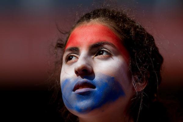 La Plata, 17 de Junho de 2011..COPA AMERICA 2011 - BRASIL 0(0) x 0 (3) PARAGUAI..A selecao brasileira de futebol enfrenta o Paraguai no estadio Unico de La Plata, em partida valida pelas quartas de final da copa america...FOTO: MARCUS DESIMONI / NITRO....