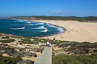 Portugal, Algarve, near Carrapateira: Praia da Bordeira