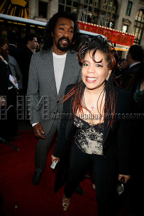 Ashford & Simpson.attending the Opening Night Performance of the New Broadway Dance Musical HOT FEET featuring the Music of Earth, Wind and Fire at the Hilton Theatre on 42nd Street in New York City..April 30, 2006.© Walter McBride /