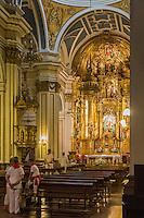 Espagne, Navarre, Pampelune, Fêtes de San Fermín , l' église de San Saturnino // Spain, Navarra, Pamplona, Festival of San Fermín , San Saturnino Church