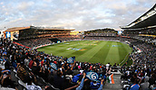 8th February 2019, Eden Park, Auckland, New Zealand;  General view from the west stand. New Zealand v India in the Twenty20 International cricket, 2nd T20.