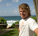 Australian Mark Occhilupo on the Northshore of Hawaii.