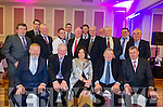 CELEBRATING TWO DECADES:  The Kenmare Mart Committee pictured celebrating their 20th year at their social held at the Kenmare Bay Hotel last Friday.