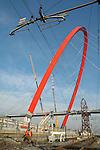 La trasformazione della Città in vista delle Olimpiadi 2006. L'arco olimpico.