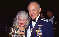 Buzz Aldrin & Wife Lois by Jonathan Green