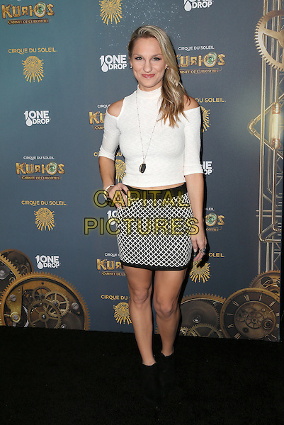Los Angeles, CA - December 09 Chelsea Briggs Attending Opening Night Of Cirque Du Soleil's &quot;Kurios - Cabinet Of Curiosities&quot; At Dodger Stadium On December 09, 2015. <br /> CAP/MPI/FS<br /> &copy;FS/MPI/Capital Pictures