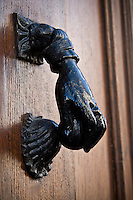 A door knocker in the Basque Country the the South West corner of France. Photo: joliphotos.com