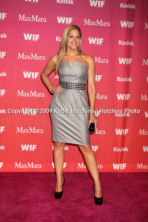 Mary McCormack  arriving at the Women in Film Annual Crystal & Lucy Awards at the Century Plaza Hotel in Century City , CA on June 12, 2009.  .©2009 Kathy Hutchins / Hutchins Photo