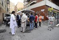 Roma, 2 Ottobre 2014<br /> Funerale islamico nella Moschea di Torpignattara di Muhammad Shahzad Khan, il giovane pakistano ucciso nel quartiere da un 17enne italiano che ha confessato l'omicidio.<br /> Gianaza, il rito islamico del funerale.<br /> L'arrivo della bara.<br /> La salma  dopo il funerale verrà riportata in Pakistan.<br /> <br /> <br /> Rome, October 2, 2014 <br /> Islamic burial in the Mosque of Torpignattara of Muhammad Shahzad Khan, the young Pakistani killed in the district by a 17 year old Italian who has confessed the murder.<br /> The body will be returned after the funeral in Pakistan.