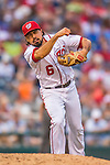 15 June 2016: Washington Nationals third baseman Anthony Rendon in action against the Chicago Cubs at Nationals Park in Washington, DC. The Nationals defeated the Cubs 5-4 in 12 innings to take the rubber match of their 3-game series. Mandatory Credit: Ed Wolfstein Photo *** RAW (NEF) Image File Available ***