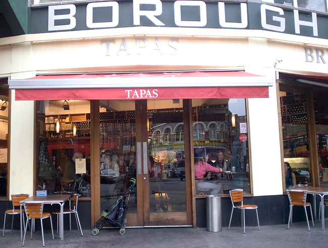Exterior, Tapas Brindisi Restaurant, London, England