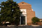 Venezia - Il Lido. La chiesa  di San Nicolò dove sono conservate le reliquie del celebre santo san Nicola di Myra, altrimenti noto come San Nicola da Bari,