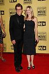 January 15, 2010:  Kevin Bacon and Kyra Sedgwick arrives at the 15th Annual Critics' Choice Movie Awards held at the Palladium in Los Angeles, California. .Photo by Nina Prommer/Milestone Photo