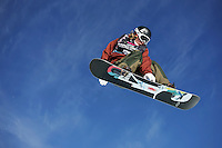 Kevin Pearce, winner of the Burton European Open Snowboarding Championships in 2009