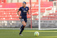 Bridgeview, IL - Sunday May 29, 2016: Sky Blue FC forward Kim DeCesare (12) during a regular season National Women's Soccer League (NWSL) match at Toyota Park.