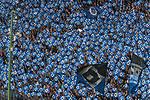 12.05.2018, Volksparkstadion, Hamburg, GER, 1.FBL. Hamburger SV vs Borussia Moenchengladbach,  im Bild   <br /> <br /> die hsv Raute<br /> <br /> Foto &copy; nordphoto / Kokenge