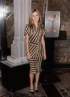 NEW YORK, NY - MAY 7, 2014:  Model Georgia May Jagger Visits The Empire State Building on May 7,  2014 in New York City  ©HP/Starlitepics /NortePhoto