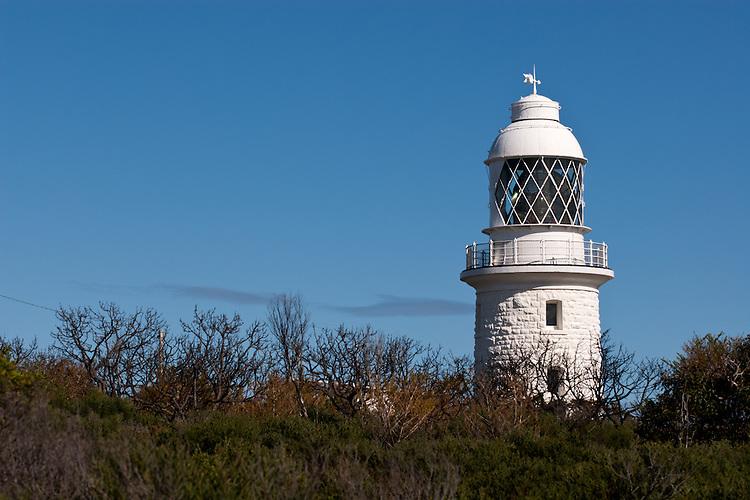 Cape Naturaliste Lighthouse Blue Sky 01 - Cape Naturaliste lighthouse, Western Australia