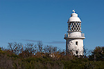 Cape Naturaliste Lighthouse Blue Sky 01 - Cape Naturaliste lighthouse, Western Australia
