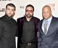 LOS ANGELES, CA - SEPTEMBER 30: Weston Cage, Nicolas Cage and Christopher Matthew Cook at the retrospective of Paul Schrader's body of work and The Beyond Fest Screening and Retrospective of Dog Eat Dog hosted by American Cinematheque at the Egyptian Theatre in Los Angeles, California on September 30, 2016. Credit: Koi Sojer/Snap'N U Photos/MediaPunch
