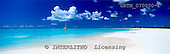 Tom Mackie, LANDSCAPES, panoramic, photos, Deserted Beach, Barbuda, Caribbean, West Indies, GBTM070000-1,#L#