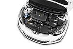 Car Stock 2015 Hyundai Elantra Sport 4 Door Sedan Engine high angle detail view