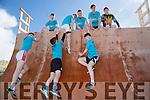 Mounthawk students,  Shane Costello, Gerard Tobin Tom Guerin.  Thomas Healy, Joe O'Connor, Darragh Clarke, Adam Boyle and Diarmuid O'Connor at the Banna Beast Challenge on Saturday