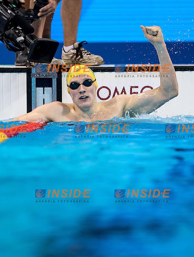 Horton Mack AUS<br /> 400 freestyle men<br /> Rio de Janeiro 06-08-2016 XXXI Olympic Games <br /> Olympic Aquatics Stadium <br /> Swimming finals 06/08/2016<br /> Photo Giorgio Scala/Deepbluemedia/Insidefoto